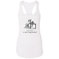 Ladies Cat Tank for Artists - Original collection from Artisticat