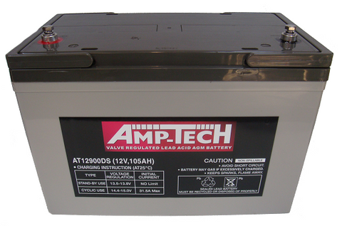 AMPTECH 100AH AGM Battery