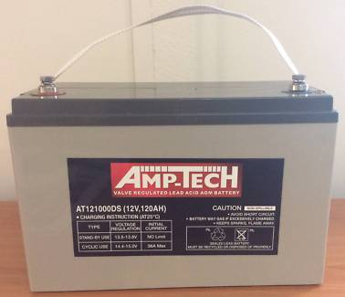 AMPTECH 120AH AGM BATTERY