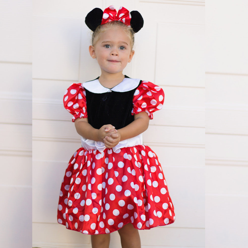 Hot sale Minnie Girls Dresses Print Cosplay dresses Halloween Costume Clothes Party mickey TUTU Dresses 2T ...  sc 1 st  OMG Stylish & Hot sale Minnie Girls Dresses Print Cosplay dresses Halloween ...