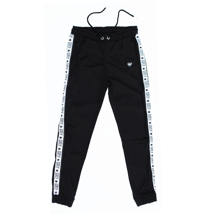 Girly track pants black