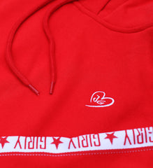 Girly Hoodie red