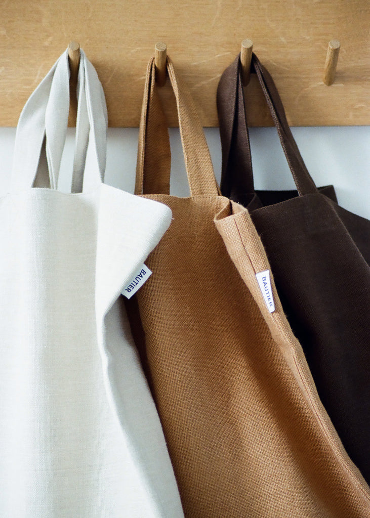 On creating the signature tote bag
