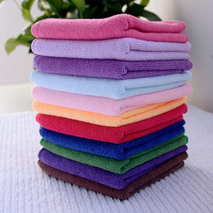 10pcs/lot Soft Microfiber Towel - Car-Stage's Shop