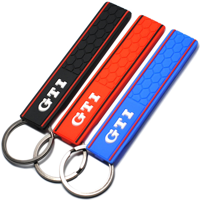 Cool Silicone GTI Car Keychain - Car-Stage's Shop