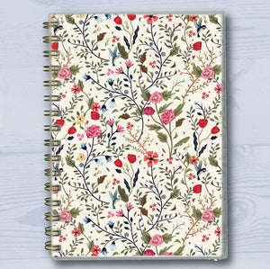 Little Flowers A5 Wiro Notebook