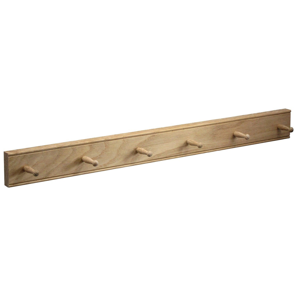 Mug Rack Oak 6 Peg