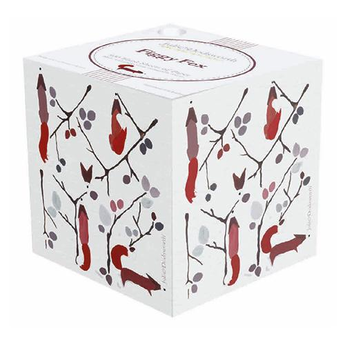 Figgy Fox Paper Notecube Padblock - Made in Britain - BRIT LOCKER