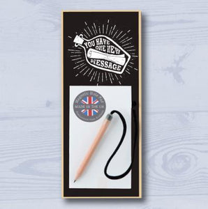 Message in a Bottle Magnetic Notepad