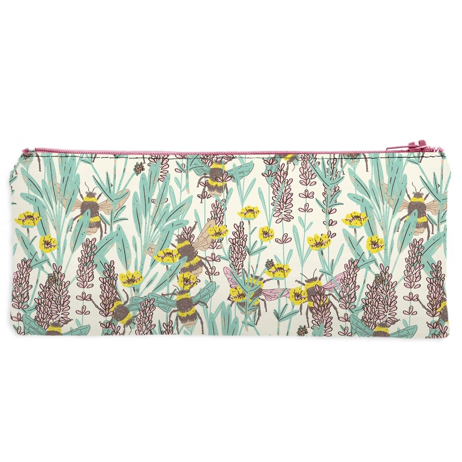 Bumblebee Meadow Pencil Case - Made in UK - BRIT LOCKER
