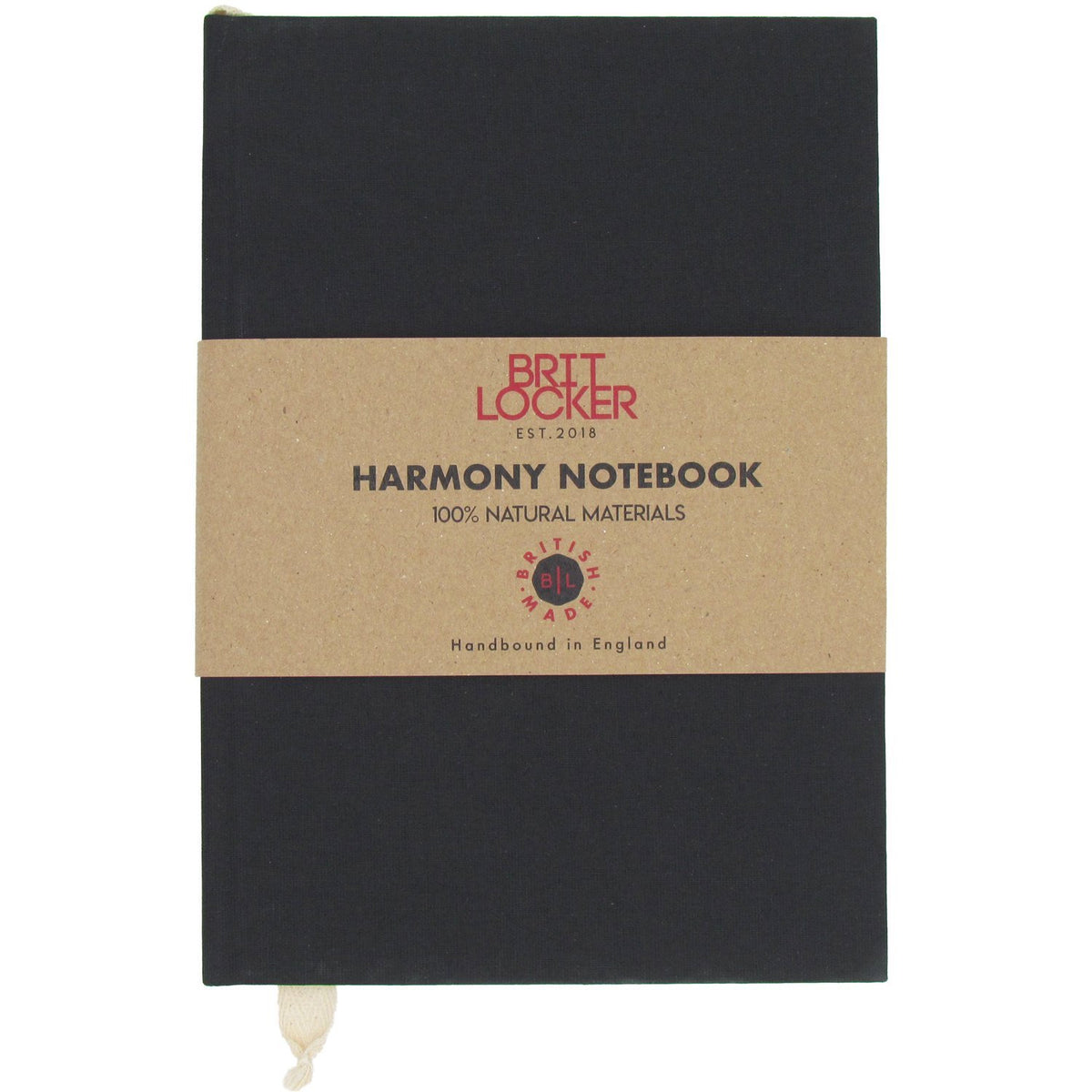 Harmony Eco-Friendly Notebook - Black - Made in Britain - BRIT LOCKER