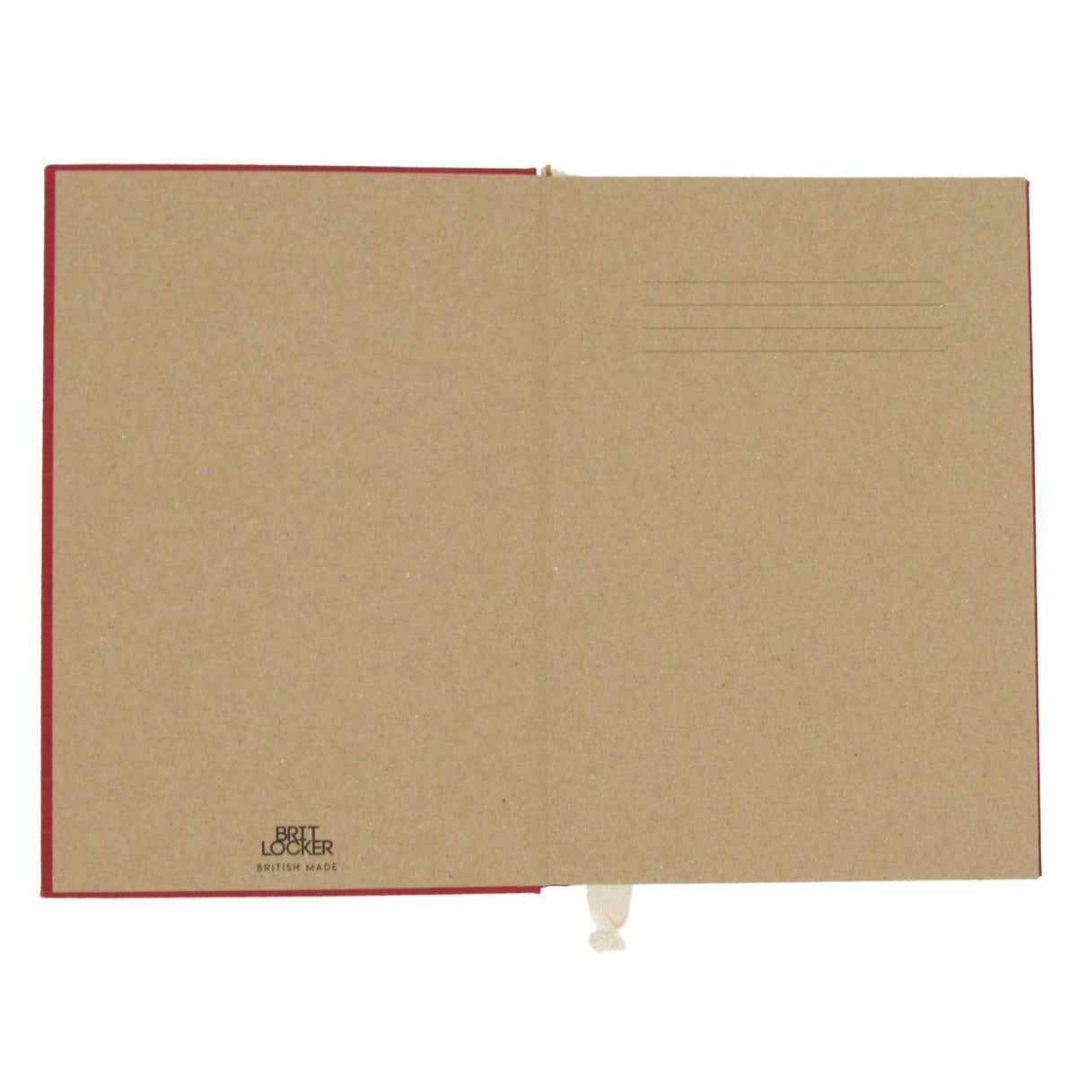 Harmony Eco-Friendly Notebook - Red