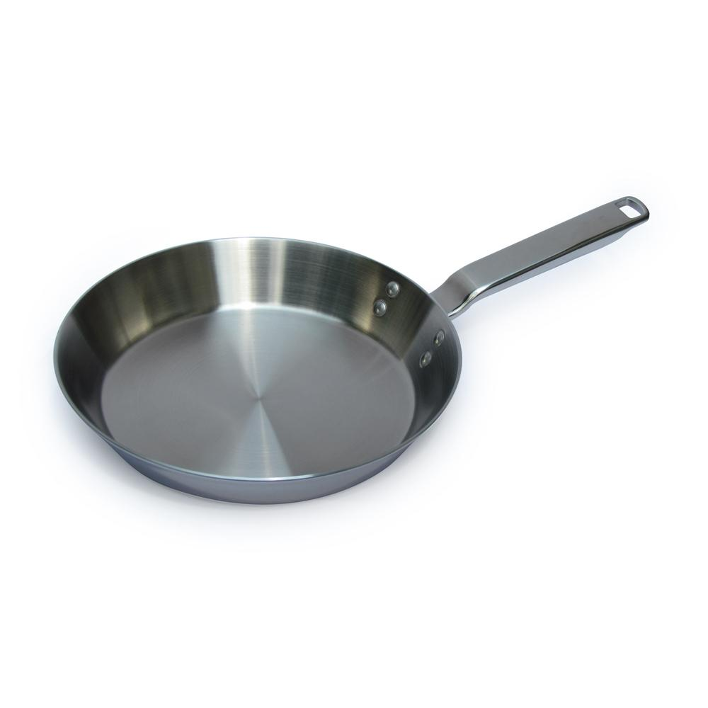 "10"" Stainless Steel Tri-Ply Frying Pan"