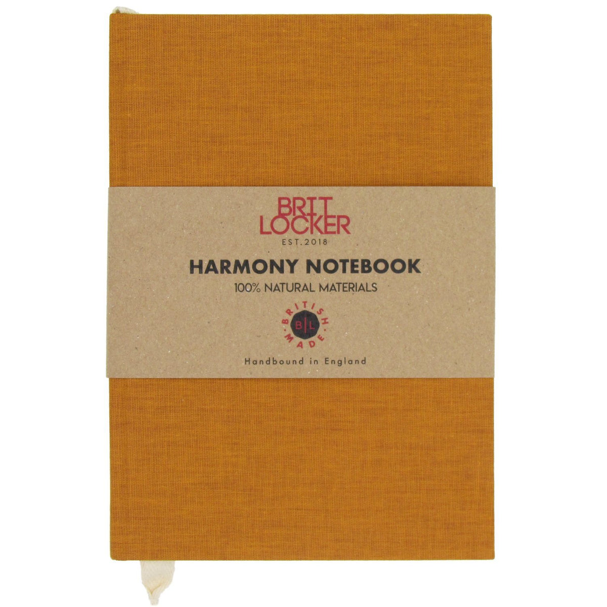 Harmony Eco-Friendly Notebook - Mustard