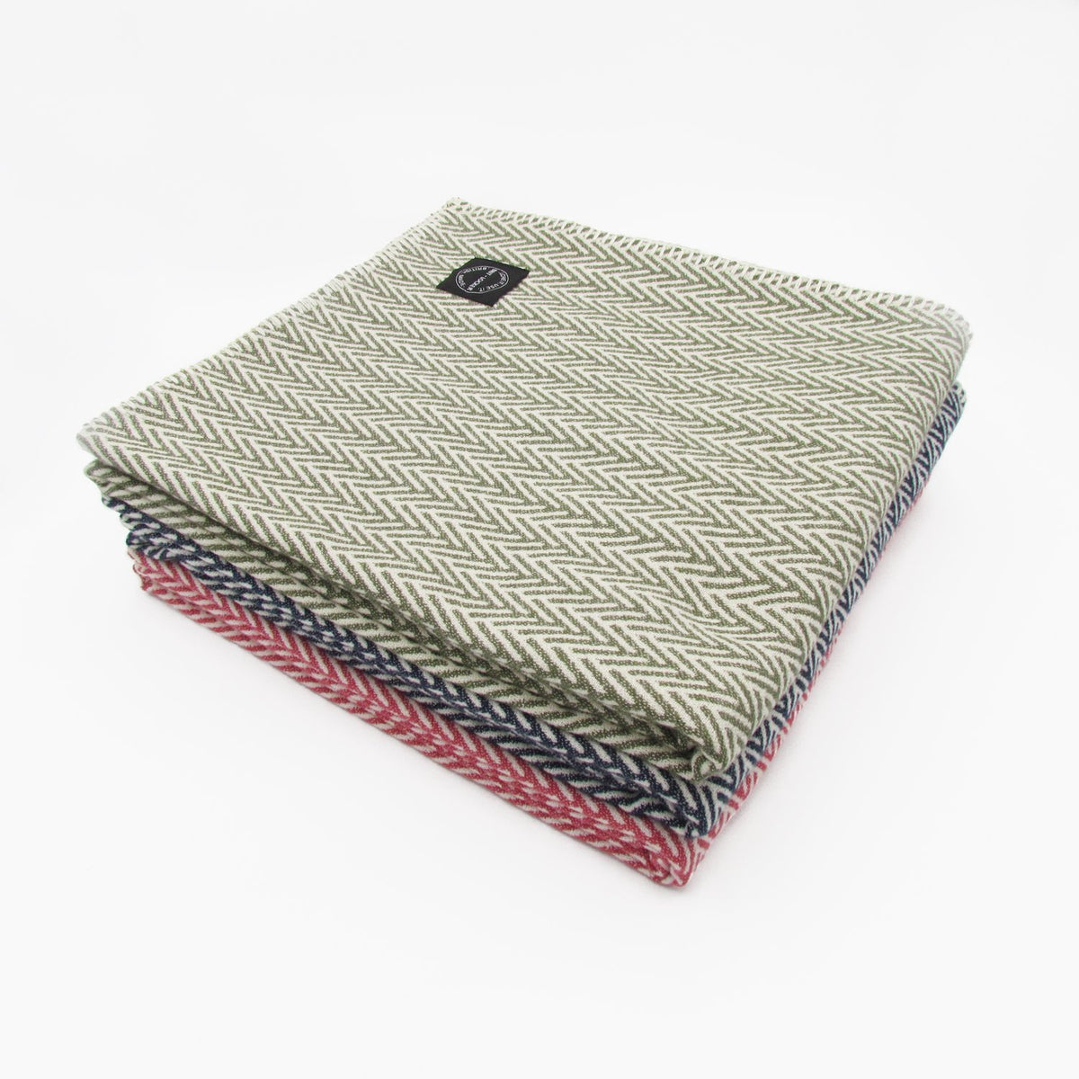 Organic Cotton Throw / Blanket - Watermelon