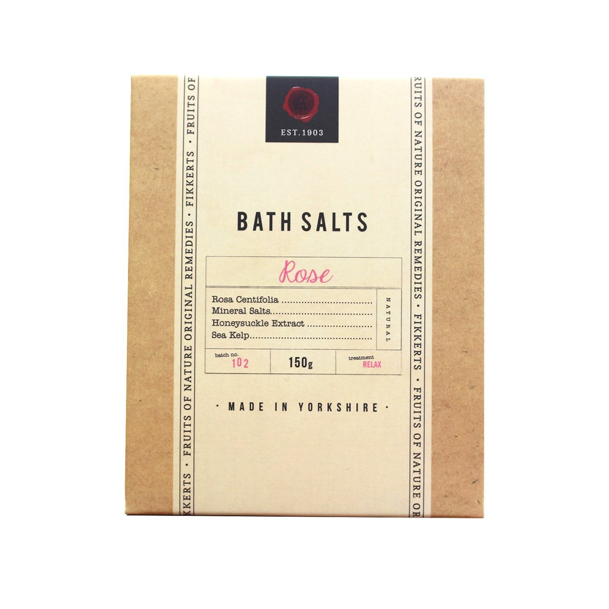 Rose Bath Salts 150g - BRIT LOCKER