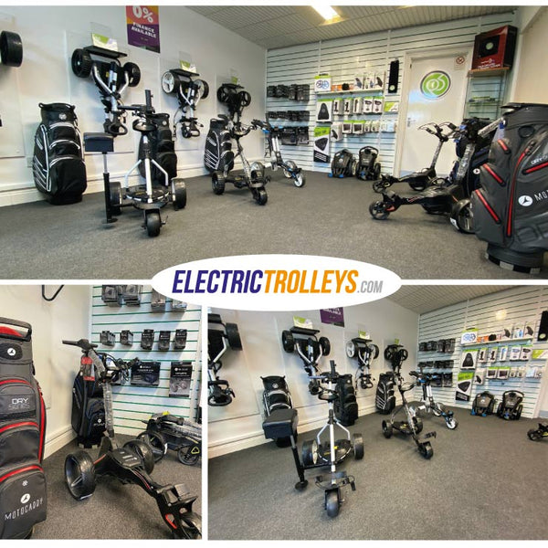 electric golf trolley shop