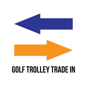 electric golf trolley trade in discount