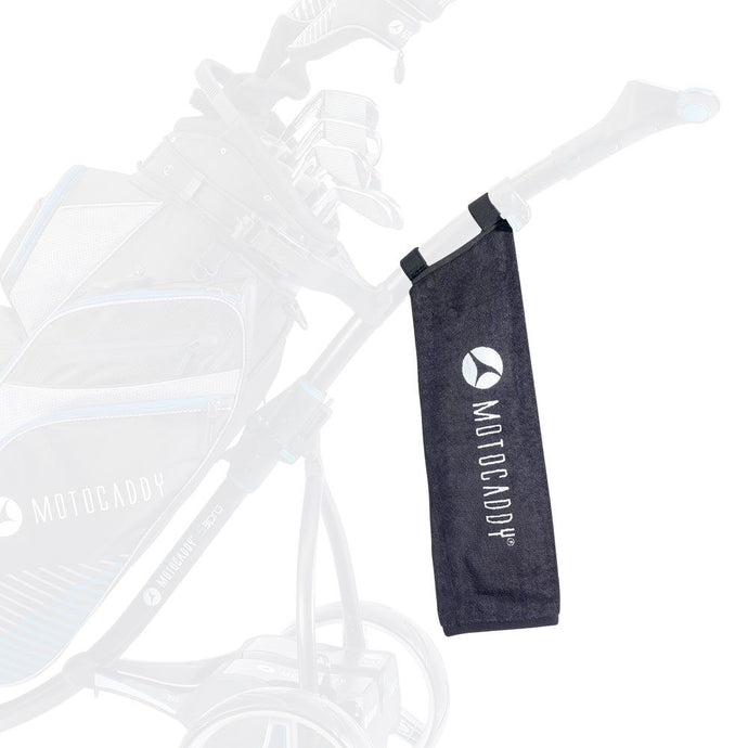 Motocaddy Deluxe Golf Towel - ElectricTrolleys.com