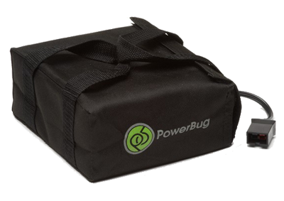 PowerBug Standard Range Lead Acid Battery - ElectricTrolleys.com