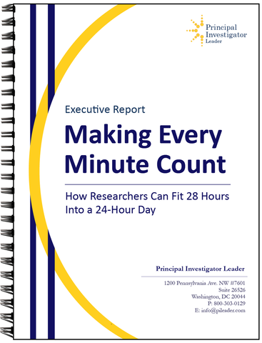 Time Management for Researchers