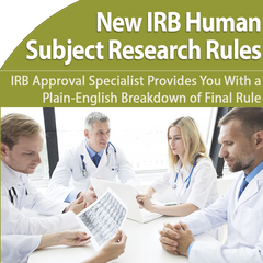 IRB approval for human subjects