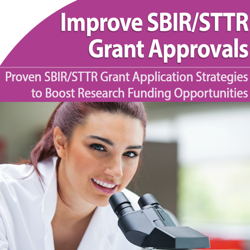 Get Your Research Funded with an NIH SBIR/STTR Grant