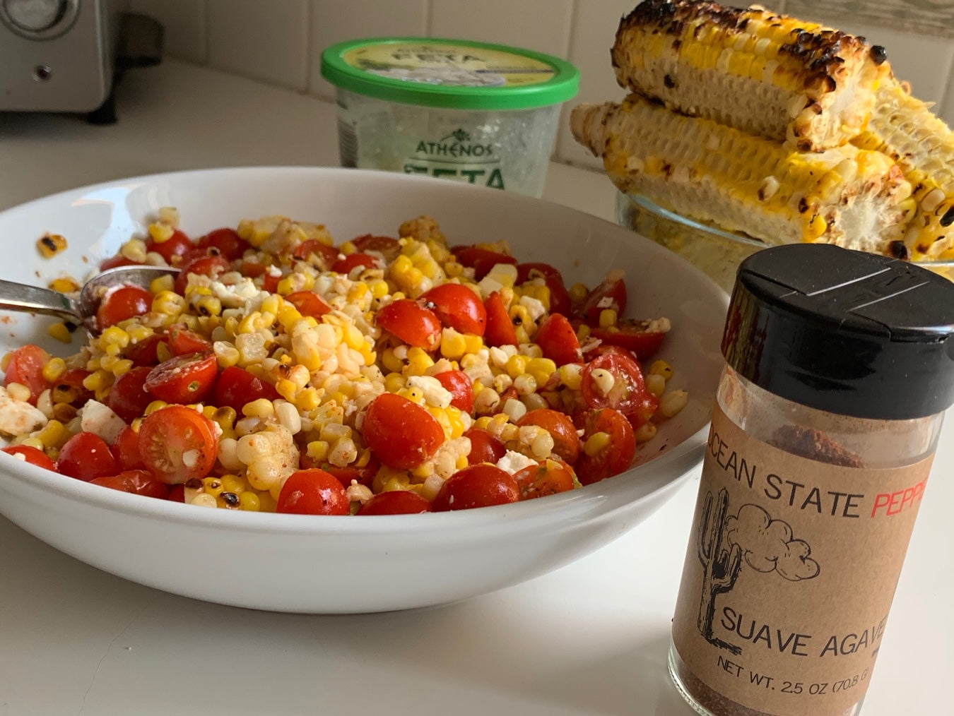 Southwestern Corn and Tomato Salad
