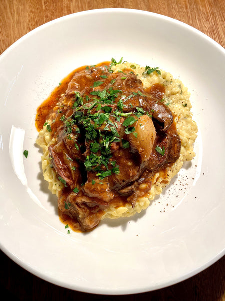 Braised Beef Risotto