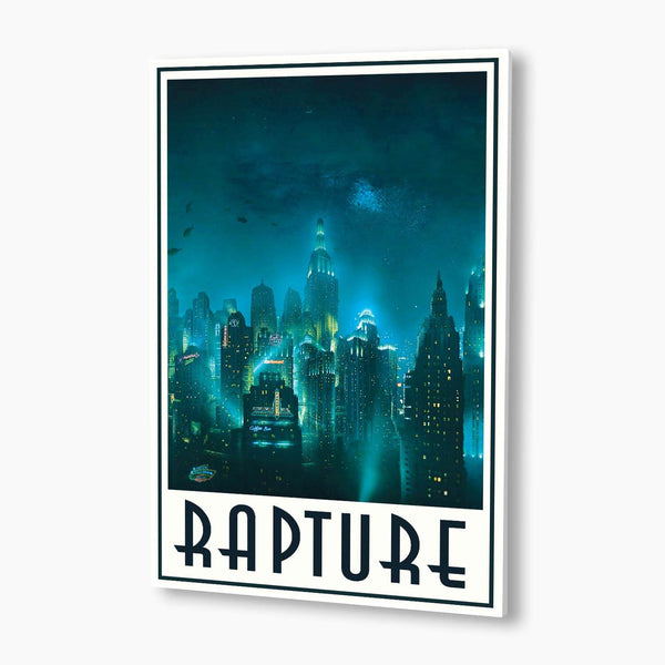 Bioshock - Welcome to Rapture: Skyline Poster; Gaming Artwork