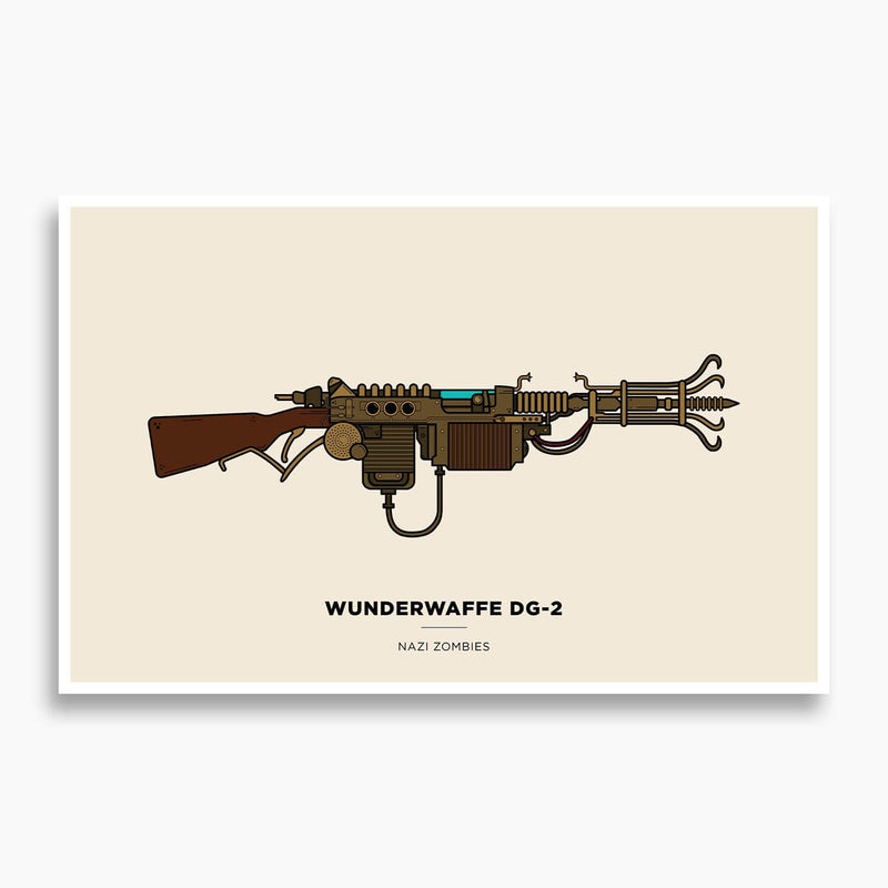 Call of Duty - Wunderwaffe DG-2 Illustration Poster