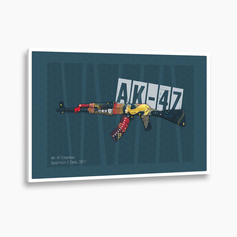 Counter-Strike: Global Offensive - AK-47 Empress Poster