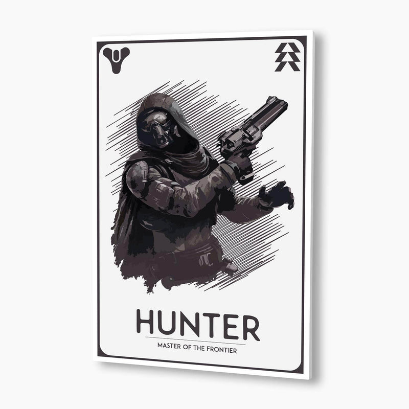 Destiny - Guardian Hunter Poster; Gaming Decor