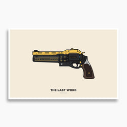 Destiny - The Last Word Illustration Poster; Gaming Decor