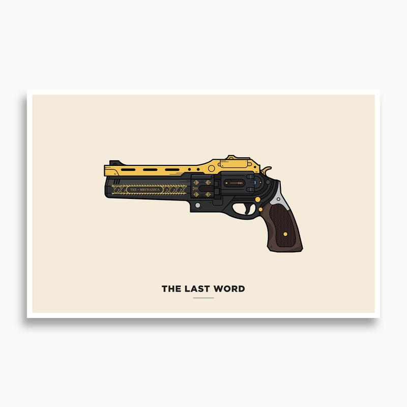Destiny - The Last Word Illustration Poster