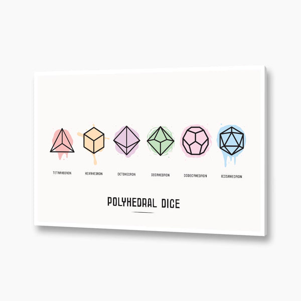 Dungeons and Dragons - Polyhedral Dice Set Poster