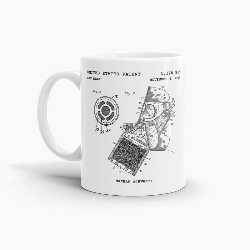 Golden Gate Bridge Pier Patent Coffee Mug; Patent Drinkware