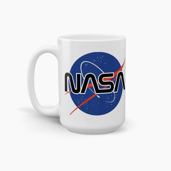 NASA Meatball Logo Coffee Mug; Premium NASA Coffee Mugs