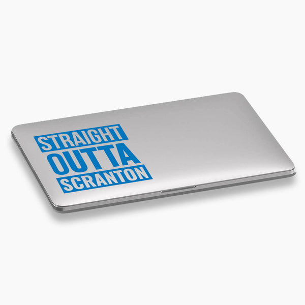 The Office - Straight Outta Scranton Vinyl Decal