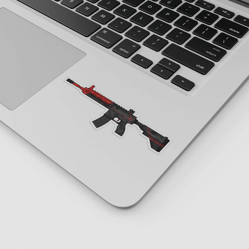 PUBG - Dr DisRespect Illustration Sticker; Gaming Stickers