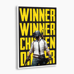 PlayerUnknown's Battlegrounds - Winner Winner, Chicken Dinner Poster