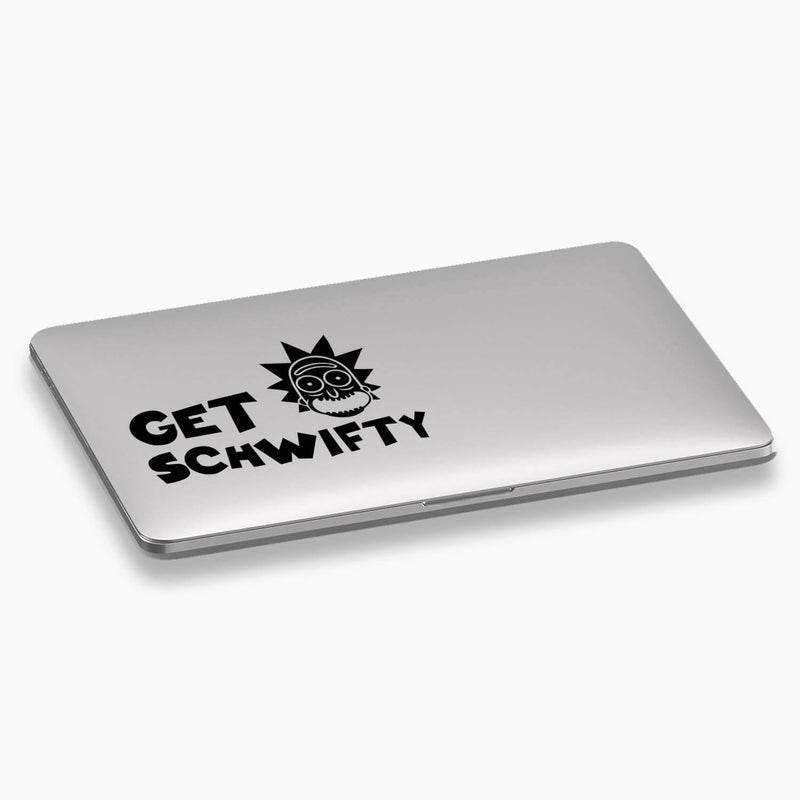 Rick and Morty - Get Schwifty Vinyl Decal