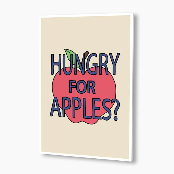 Rick And Morty - Hungry For Apples Poster; Pop Culture Poster