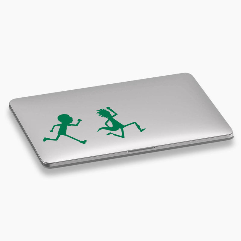 Rick and Morty - Quick, Morty! Vinyl Decal