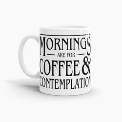 Stranger Things - Mornings are for Coffee and Contemplation Coffee Mug; Pop Culture Drinkware