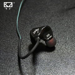 ZS3 Noise Cancelling In-ear Earphone Custom-Made Grade with Detachable Cable
