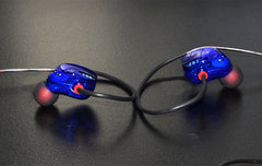 ZS2 IEM Sports Headphones with Dual Drivers Extra Bass and Wide Sound Field