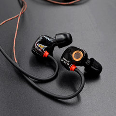 ATE S Hi-Fi IEM Sports Headphones with Super Bass and Noise Isolating