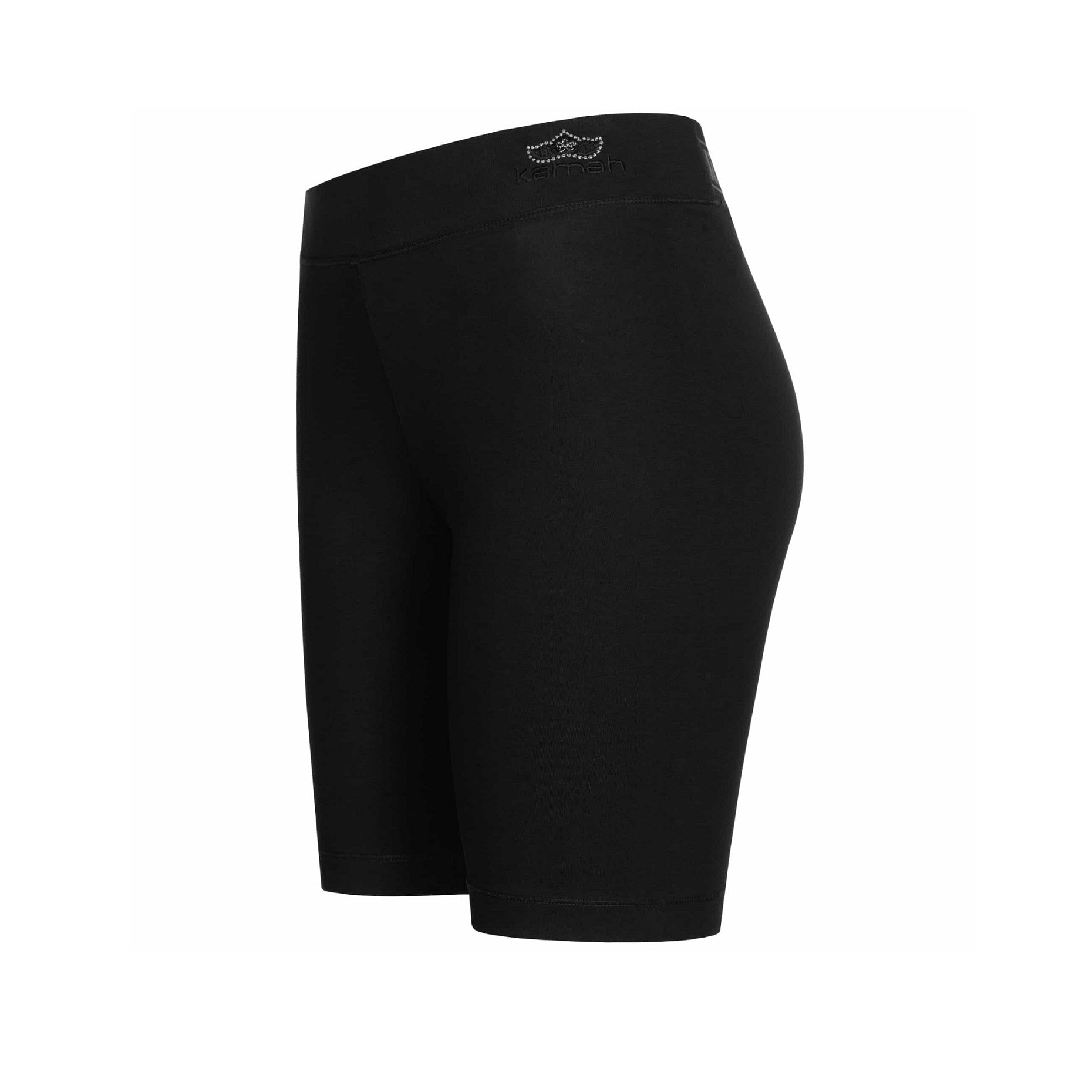 "Yoga shorts ""Willow"", black - Short Tights"