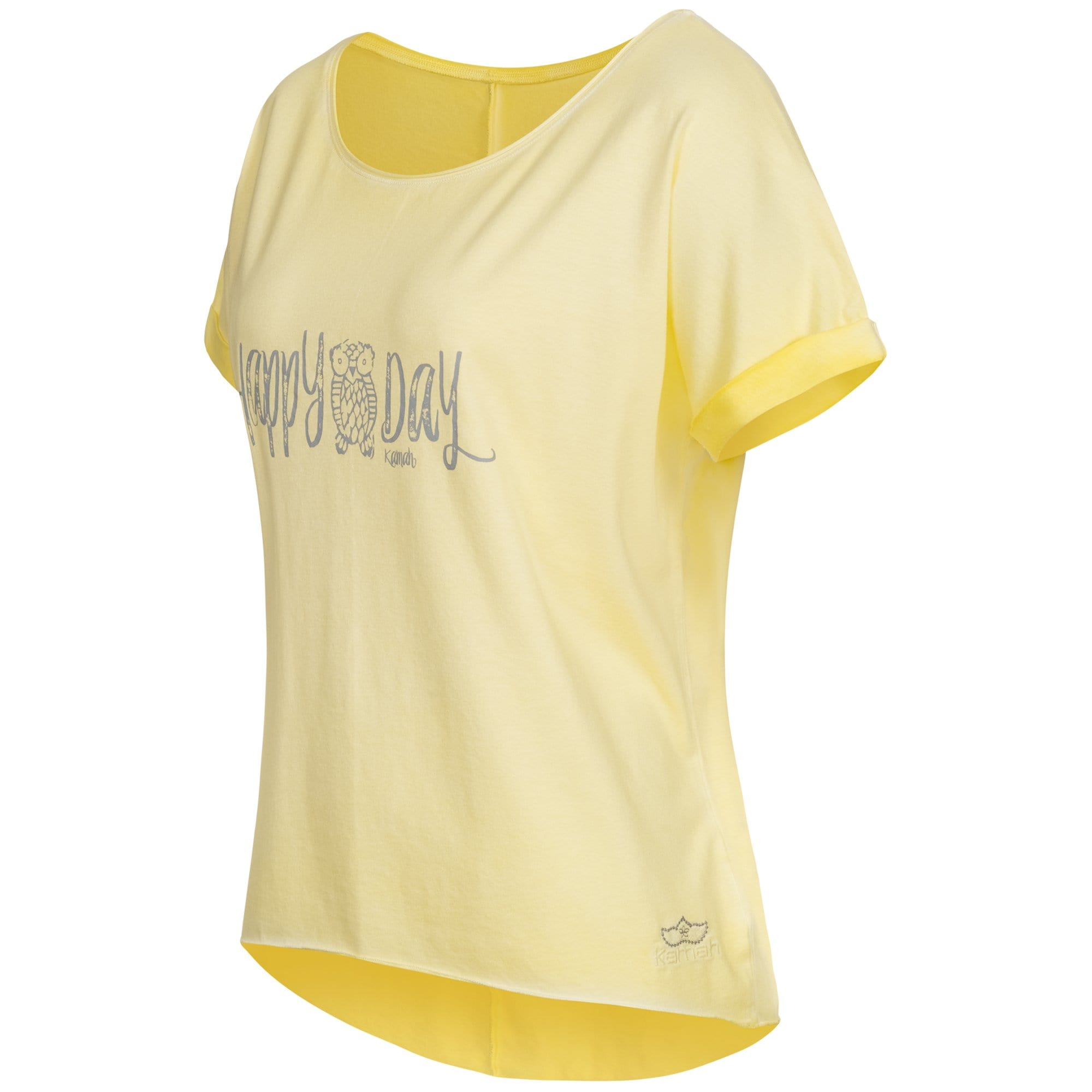 "Yoga-Shirt ""Ulani"", sunshine - Weit geschnittenes Lounge-Shirt - Kamah Yoga and Style"